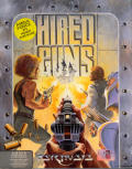 Hired Guns Amiga Front Cover