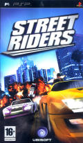Street Riders PSP Front Cover