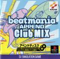 beatmania Append Club Mix PlayStation Front Cover