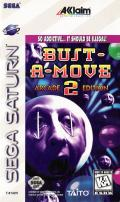 Bust-A-Move 2: Arcade Edition SEGA Saturn Front Cover
