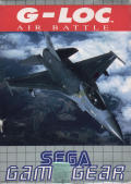 G-Loc Air Battle Game Gear Front Cover