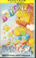 Ball Crazy ZX Spectrum Front Cover