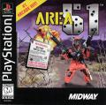 Area 51 PlayStation Front Cover
