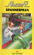 Spannerman Amstrad CPC Front Cover
