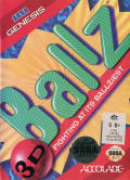Ballz 3D: Fighting at its Ballziest Genesis Front Cover