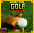 World Tour Golf Amiga Front Cover