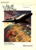 Microsoft Flight Simulator (v4.0) DOS Front Cover