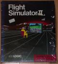 Flight Simulator II Atari ST Front Cover
