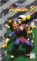 Virtua Fighter 2 SEGA Saturn Front Cover