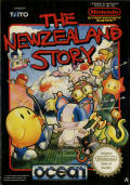 The New Zealand Story NES Front Cover