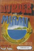 Murder off Miami Commodore 64 Front Cover