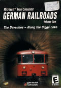 Microsoft Train Simulator: German Railroads Volume One: The Seventies - Along the Bigge Lake Windows Front Cover