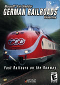 Microsoft Train Simulator: German Railroads Volume Two: Fast Railcars on the Runway Windows Front Cover
