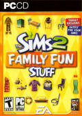 The Sims 2: Family Fun Stuff Windows Front Cover