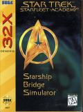 Star Trek: Starfleet Academy - Starship Bridge Simulator SEGA 32X Front Cover