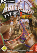 RollerCoaster Tycoon 3: Wild! Windows Front Cover