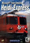 Microsoft Train Simulator: Heidi-Express Windows Front Cover