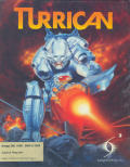 Turrican Amiga Front Cover