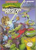 Teenage Mutant Ninja Turtles III: The Manhattan Project NES Front Cover