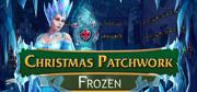 Christmas Patchwork: Frozen Windows Front Cover
