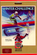 Winter Challenge: World Class Competition Amiga Front Cover