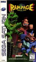 Rampage World Tour SEGA Saturn Front Cover