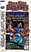 Three Dirty Dwarves SEGA Saturn Front Cover