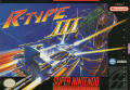 R-Type III: The Third Lightning SNES Front Cover