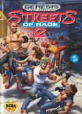 Streets of Rage 2 Genesis Front Cover