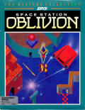 Space Station Oblivion Amiga Front Cover