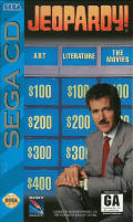 Jeopardy! SEGA CD Front Cover