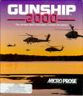 Gunship 2000 Amiga Front Cover