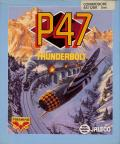 P47 Thunderbolt Commodore 64 Front Cover