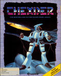 Thexder Amiga Front Cover