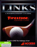 Links: Championship Course - Firestone Country Club Amiga Front Cover