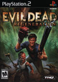 Evil Dead: Regeneration PlayStation 2 Front Cover
