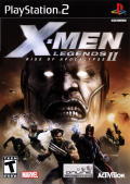 X-Men: Legends II - Rise of Apocalypse PlayStation 2 Front Cover