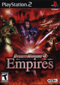 Dynasty Warriors 4: Empires PlayStation 2 Front Cover