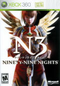 N3: Ninety-Nine Nights Xbox 360 Front Cover