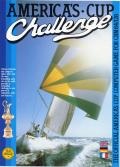 The Official America's Cup Sailing Simulation Commodore 64 Front Cover