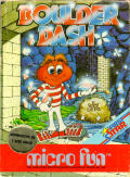 Boulder Dash Commodore 64 Front Cover