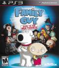 Family Guy: Back to the Multiverse PlayStation 3 Front Cover