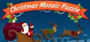 Christmas Mosaic Puzzle Windows Front Cover