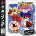 Pocket Fighter PlayStation Front Cover