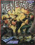 Renegade Amstrad CPC Front Cover
