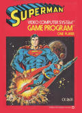 Superman Atari 2600 Front Cover