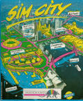 SimCity Amstrad CPC Front Cover