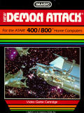Demon Attack Atari 8-bit Front Cover