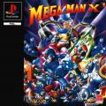 Mega Man X3 PlayStation Front Cover