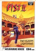 Fist: The Legend Continues Commodore 64 Front Cover